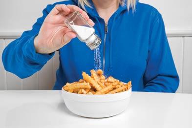 usunn mat og salt