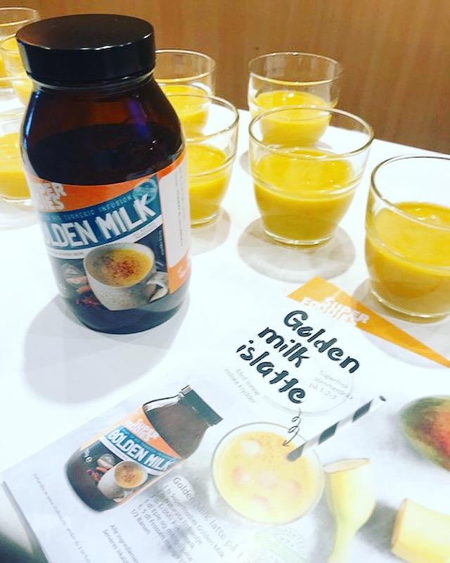 mat og drikke med naturligt sukker