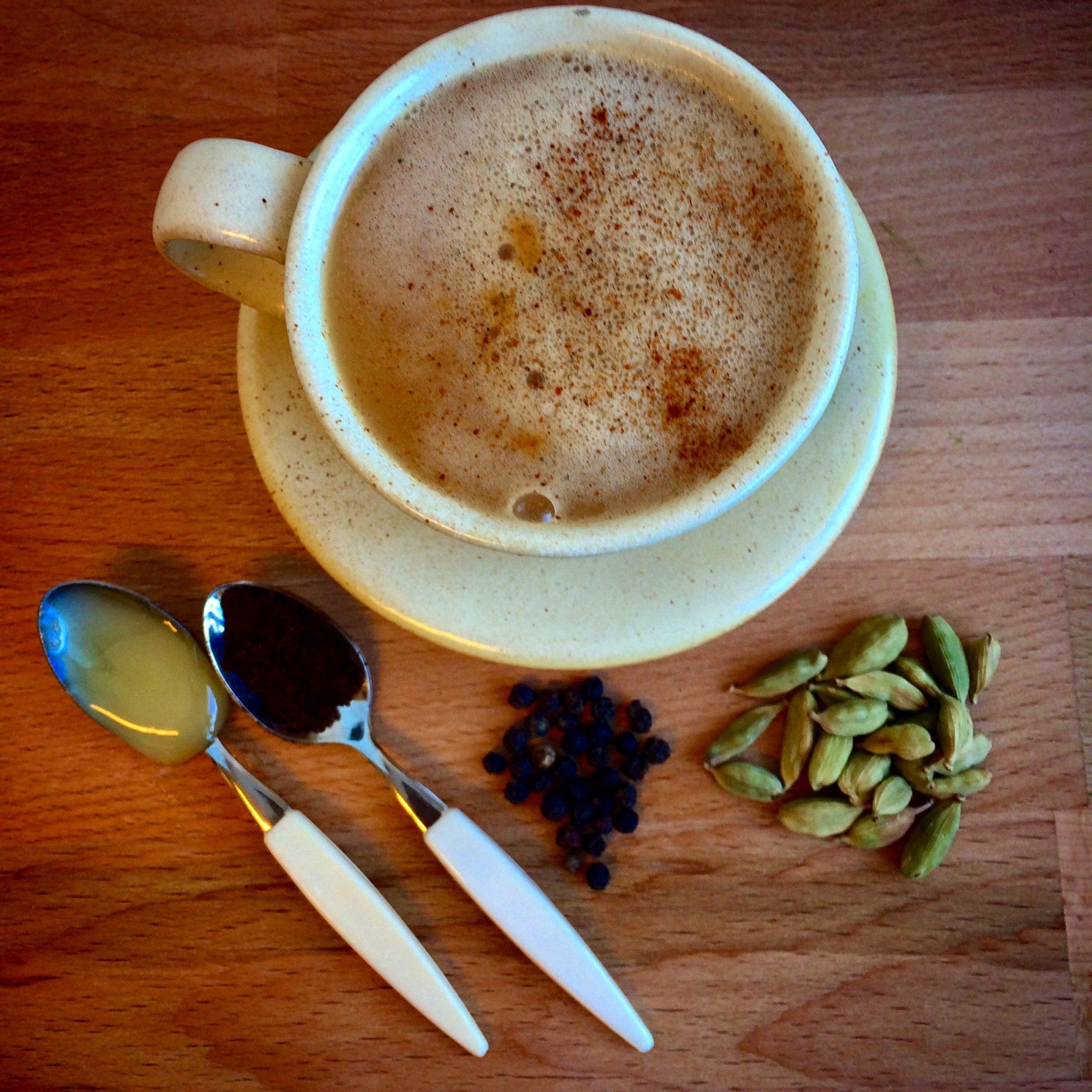 Deilig Spicy Chai Latte Med Smak Av Julekrydder!