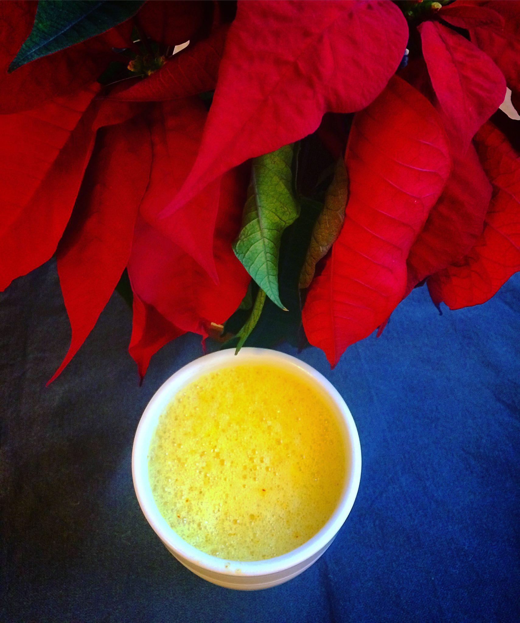 Safran Latte = Nydelig Og Varmende Julkos!
